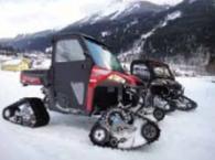 Зимни АТВ машини и оборудване